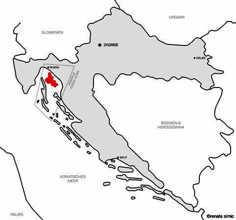 Flughafen Rijeka Vrbnik Insel Krk Kroatien Flughafentransfer
